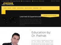 jyotish.ch Webseite Vorschau