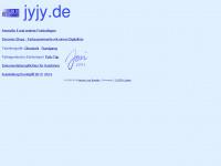jyjy.de Webseite Vorschau