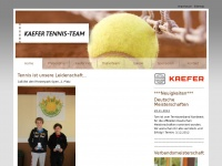 kaefer-tennisteam.de