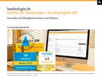 baubiologie.de Webseite Vorschau