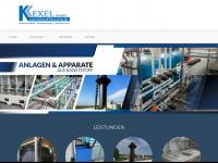 kexel-kunststofftechnik.de Webseite Vorschau