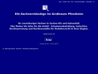 kfz-sachverstaendige-pforzheim.de Thumbnail
