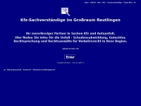 kfz-sachverstaendige-reutlingen.de Thumbnail