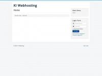 ki-webhosting.de Webseite Vorschau
