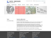 kick-grosser.de Webseite Vorschau