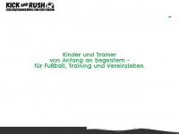 kickandrush.de Webseite Vorschau