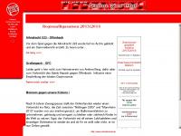 kickersueberraschung.de Webseite Vorschau