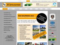 kickinger-bau.at Webseite Vorschau