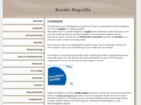 kredit-begriffe.de