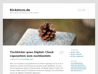 kickstore.de Webseite Vorschau