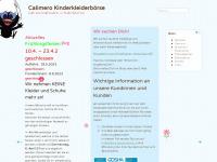 kids-secondhand.ch Webseite Vorschau