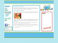 kids-singen.ch Webseite Vorschau