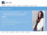 kids-talk.de Webseite Vorschau