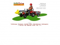 kidsdrive.de Webseite Vorschau