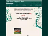 kidsevents.de Webseite Vorschau
