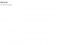 kieron.de Webseite Vorschau