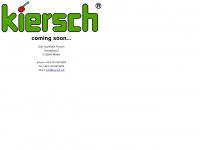 kiersch-gmbh.de Webseite Vorschau