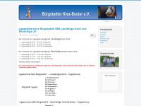 kiesbouler-buergstadt.de Webseite Vorschau