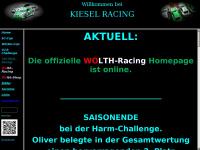 kiesel-racing.de Webseite Vorschau