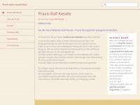 kiesele.de Webseite Vorschau