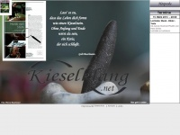 kieselklang.net Webseite Vorschau