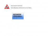 kieswerk-freienwill.de Webseite Vorschau