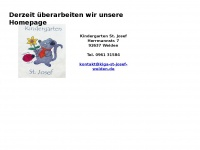 kiga-st-josef-weiden.de Webseite Vorschau