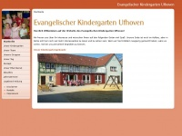 kiga-ufhoven.de Webseite Vorschau