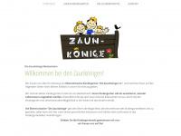 kiga-zaunkoenige.de Webseite Vorschau