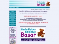 kigabasar.de Webseite Vorschau