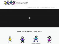 kiga84.de Webseite Vorschau