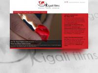 kigali-films.de Webseite Vorschau