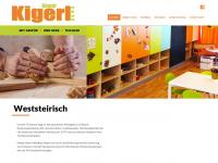 kigerl.at Webseite Vorschau