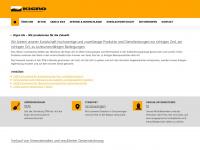 kigro.ch Webseite Vorschau