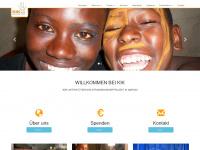kik-kenia.de Webseite Vorschau