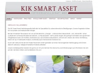 kik-smart-asset.de Webseite Vorschau