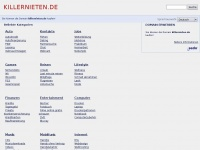 killernieten.de Webseite Vorschau