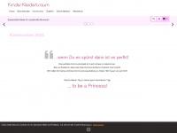kinder-kleidertraum.de Webseite Vorschau