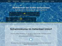 kinder-schwimmen.ch Webseite Vorschau