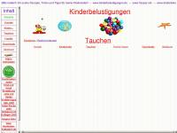 kinderbelustigungen.de Webseite Vorschau