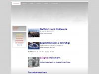 kinderbeten.at Webseite Vorschau