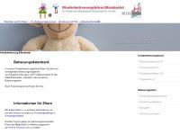 kinderbetreuung-blieskastel.de Webseite Vorschau
