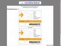 kinderbetreuer.de Webseite Vorschau