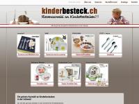kinderbesteck.ch Webseite Vorschau