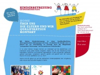 kinderbetreuung-krings.de Webseite Vorschau