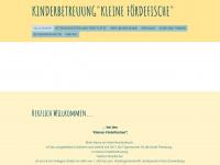 kinderbetreuung-foerdefische.de Webseite Vorschau