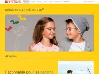 kinderbrillen-in-berlin.de Webseite Vorschau