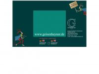kinderbuecher-geisenheyner.de Webseite Vorschau
