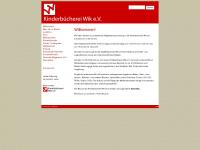 kinderbuecherei-wik.de Webseite Vorschau