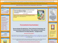 kinderbuechershop.de Webseite Vorschau